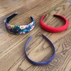 3 Vintage Headbands